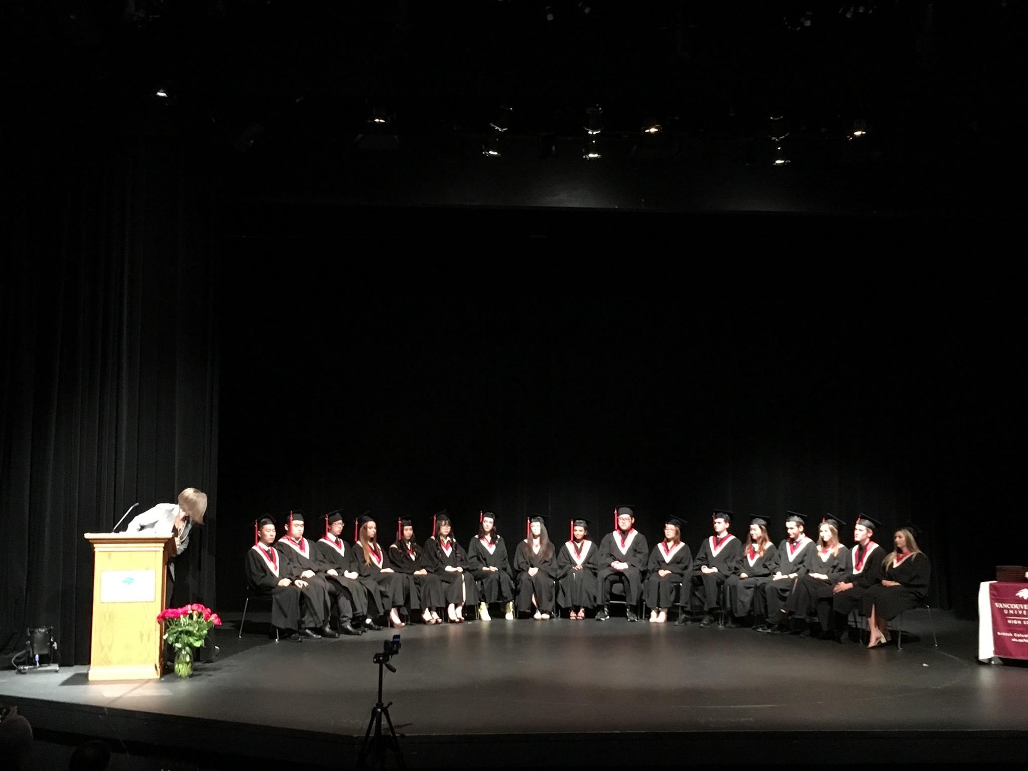 THS卒業式