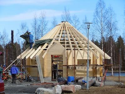 新しい小屋