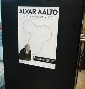 アルヴァ・アールト展ポスター