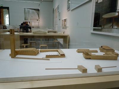 セイナヨキアールトセンター模型