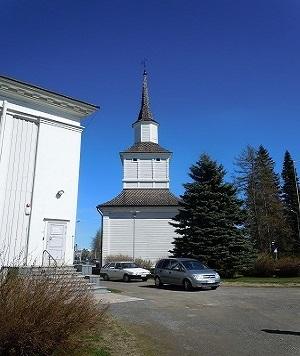 ラプア教会時計塔