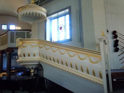 ラプア教会演台