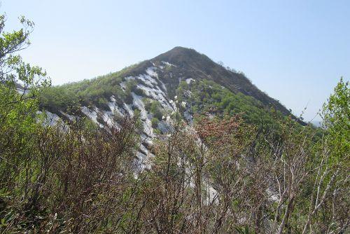 飯士山東面
