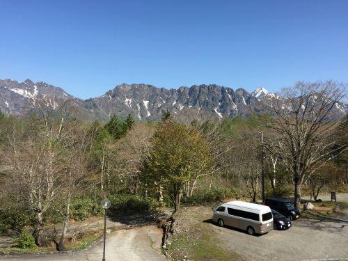宿から見た景観