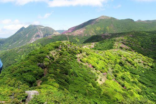 沓掛山にて