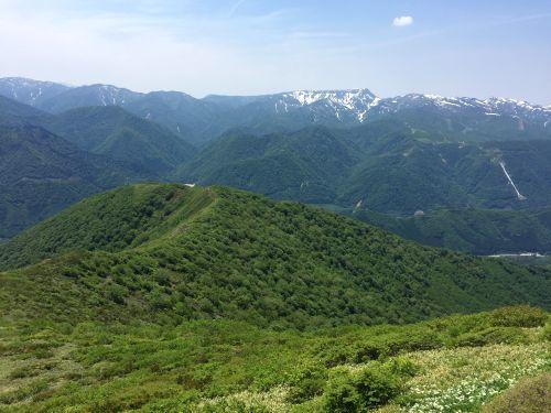 苗場山と松手山ルート