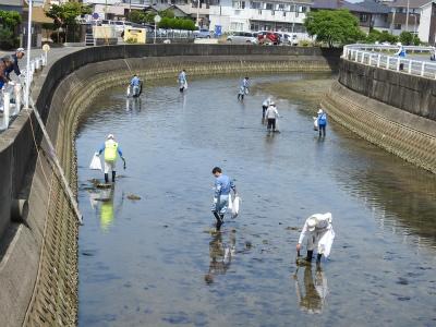 3河口清掃