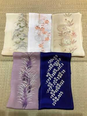 刺繍衿コレクション