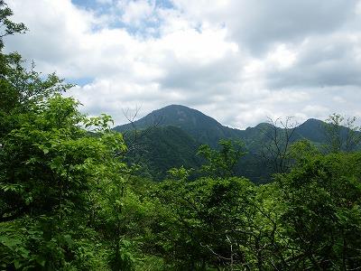 蛭ヶ岳が見えた