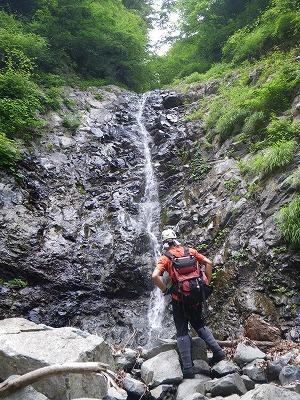 連瀑最初の12m