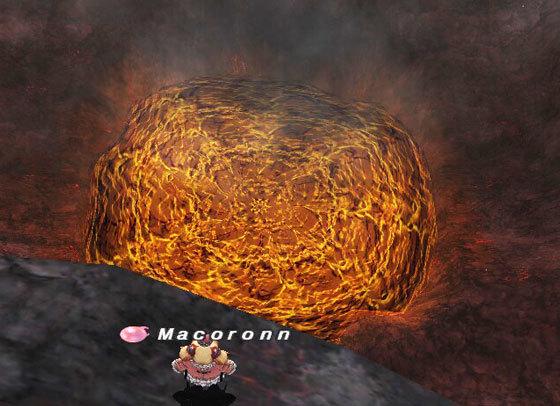 イフ釜溶岩