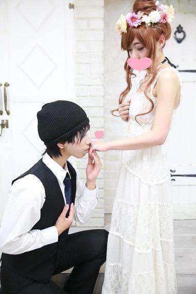 模擬結婚式 その8