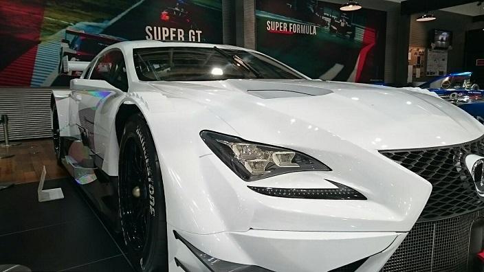 レクサスRC-Fレースカー