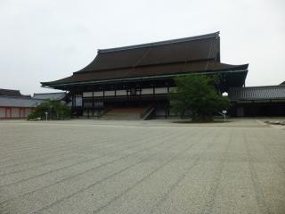 京都御所即位を行った所