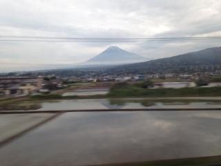 念願の富士山