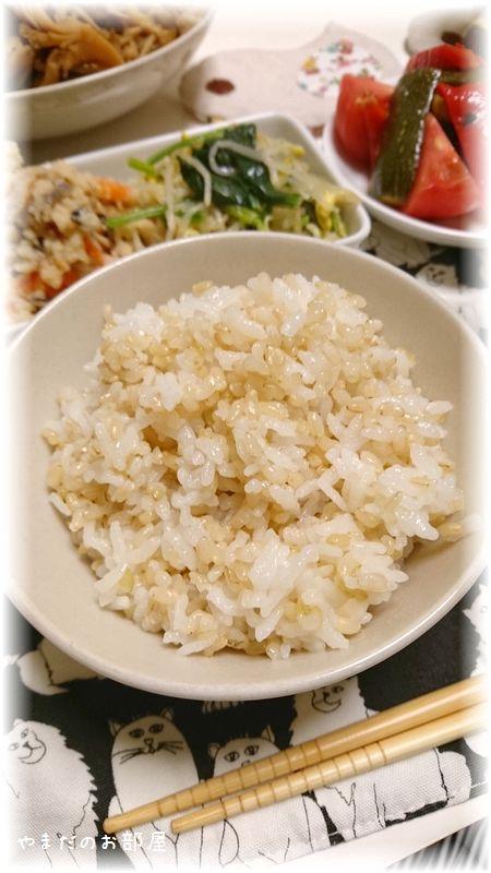 玄米生活はじめました。②