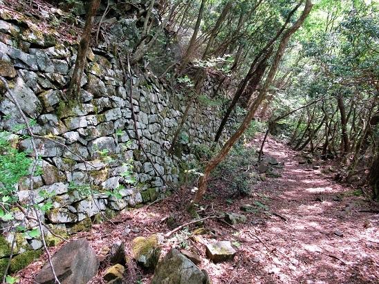 西赤石山トロッコ道