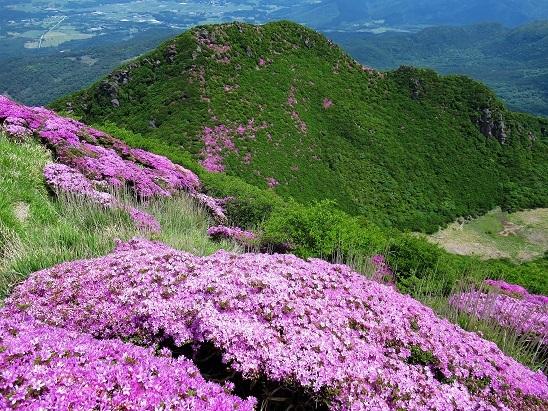三俣山山頂より (2)