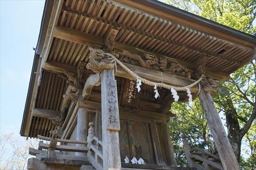 2加波山神社本宮