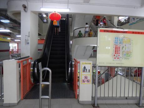 シンガポール2016.12グルメ・チャイナタウンコンプレックス