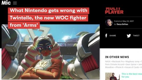 【悲報】任天堂のゲーム『ARMS』、黒人差別だと黒人に避難される