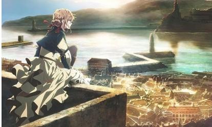 【最強作画】京アニ新作『ヴァイオレット・エヴァーガーデン』は2018年1月放送!!しかも世界同時配信!!!これは勝ったな・・・・
