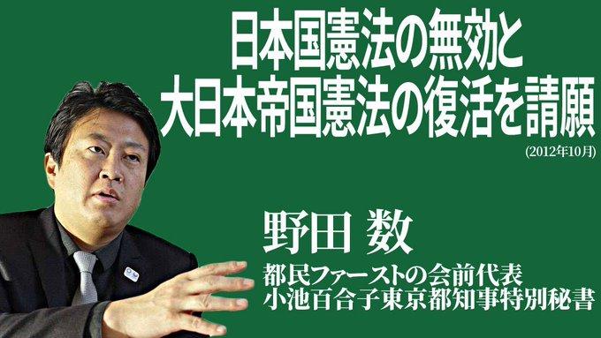 野田プロフィール