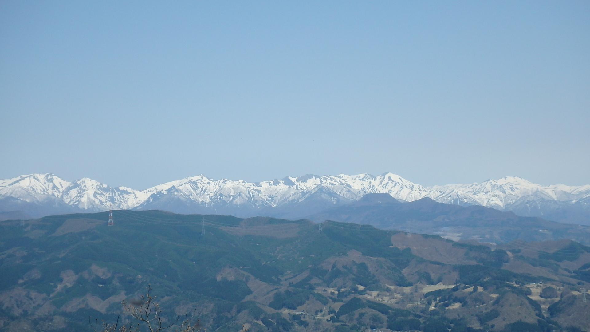 上越国境の山々P4302151