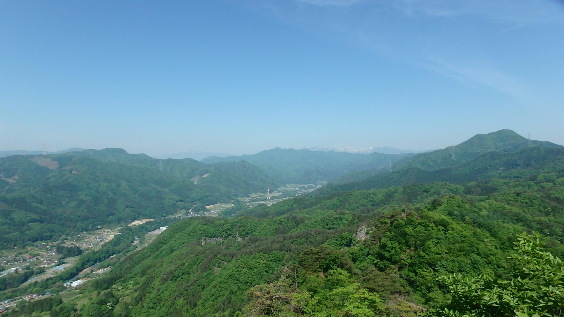 白砂山・薬師岳・吾嬬山方面P5212842