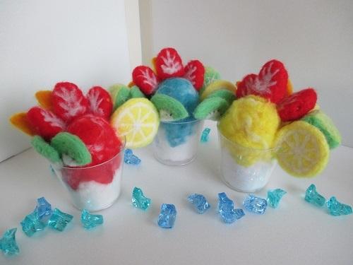 フルーツかき氷2