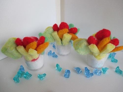 フルーツかき氷3
