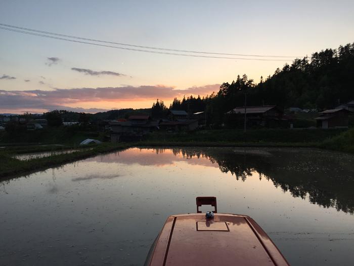 2017 農繁期 春  米作り 代掻き 1