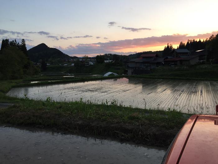 2017 農繁期 春  米作り 代掻き 2