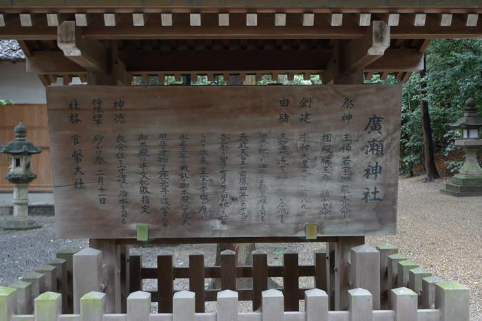 大和の国の神社  廣瀬神社  5