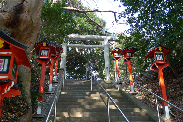 常陸国の神社  吉田神社  10