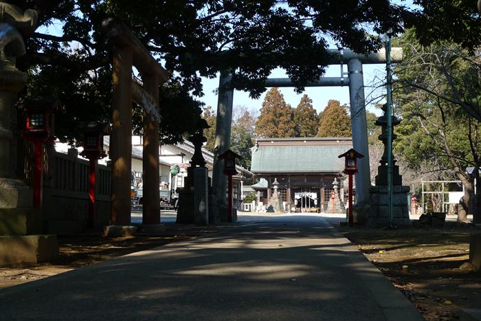 常陸国の神社  吉田神社  11