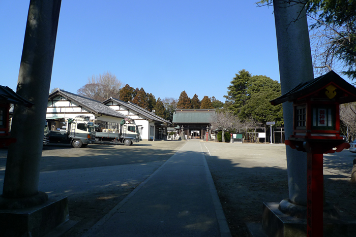 常陸国の神社  吉田神社  12
