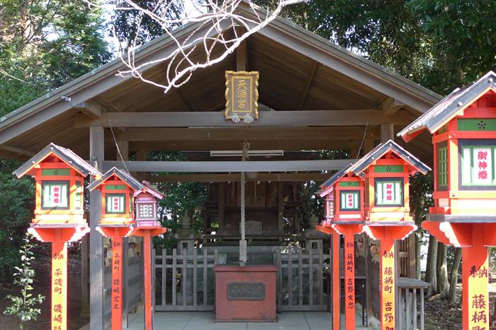 常陸国の神社  吉田神社  16