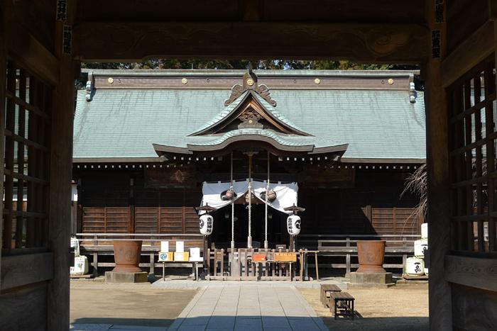 常陸国の神社  吉田神社  17
