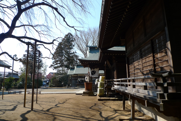 常陸国の神社  吉田神社  25