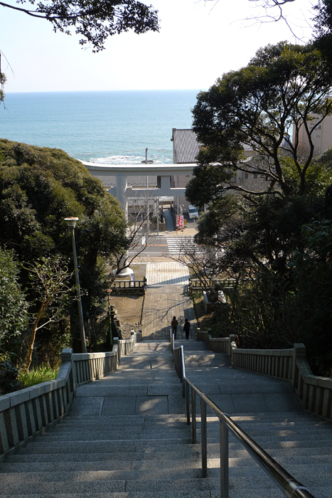 常陸国の神社  大洗磯前神社 9