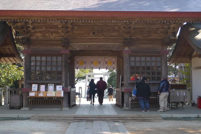 常陸国の神社  大洗磯前神社 47