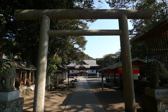 常陸国の神社  酒列磯前神社  1
