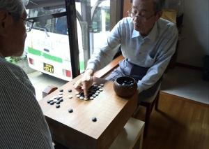 月曜日は囲碁将棋の日