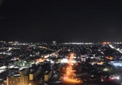 秋田市夜景
