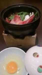 珠洲温泉 のとじ荘、夕食料理2