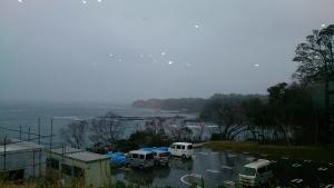 珠洲岬、駐車場