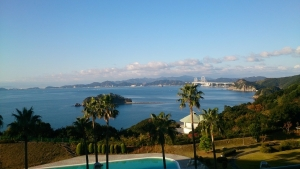 南淡路ロイヤルホテル、部屋からの眺望2