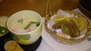 ホテルベルリーフ大月、夕食料理4