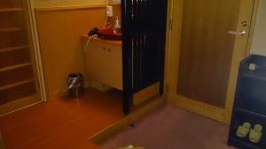 湯快リゾート 湯原温泉 輝乃湯、和室、玄関上り口